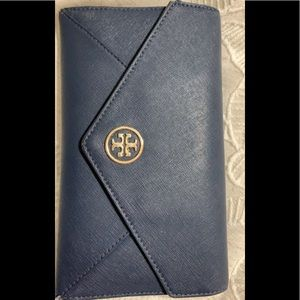 Tory Burch navy wallet